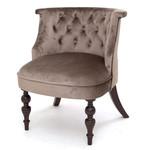Кресло Бархат (темный тон / 15 - коричневый) Red Black