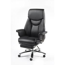 Кресло для руководителя в офис NORDEN PARLAMENT (Парламент) Черная ЭКО кожа