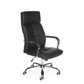 Кресло для руководителя в офис NORDEN ALEX (Алекс) черная ЭКО кожа