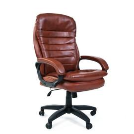 Компьютерное кресло для руководителя Chairman 795 LT Коричневый