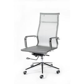 Кресло для руководителя в офис NORDEN HELMUT (Хельмут) Серая сетка