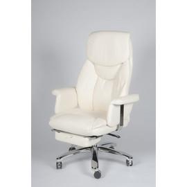 Кресло для руководителя в офис NORDEN PARLAMENT (Парламент) Кожа бежевая натуральная