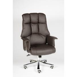 Кресло для руководителя в офис NORDEN PRESIDENT (Президент) Коричневая ЭКО кожа