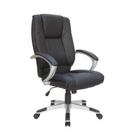 Кресло для руководителя в офис Riva Chair 9036 Лотос Черный