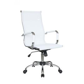 Компьютерное кресло для руководителя Riva Chair 6001-1SE сетчатое белый