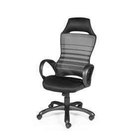 Офисное кресло NORDEN RENOME (Реноме) Черный пластик/Черная сетка