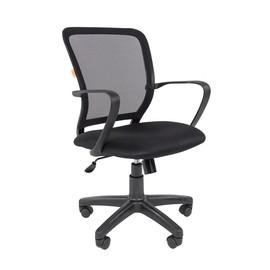 Компьютерное кресло Chairman 698 Черный пластик BLACK