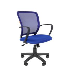 Компьютерное кресло Chairman 698 Черный пластик BLUE