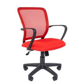Компьютерное кресло Chairman 698 Черный пластик RED