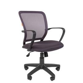 Компьютерное кресло Chairman 698 Черный пластик GREY