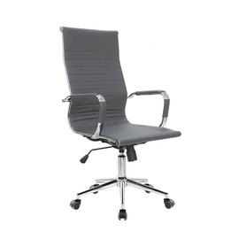 Кресло для руководителя в офис Riva Chair 6002-1 S серый