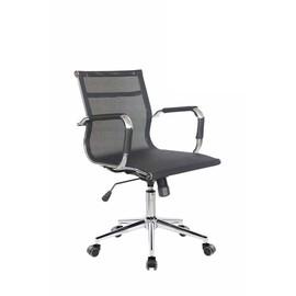 Офисное кресло Riva Chair 6001 2S черная сетка