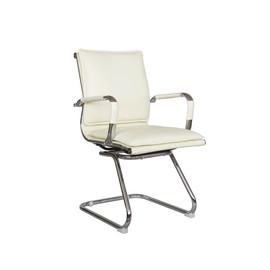 Офисное кресло для посетителей и переговорных Riva Chair 6003-3 бежевый