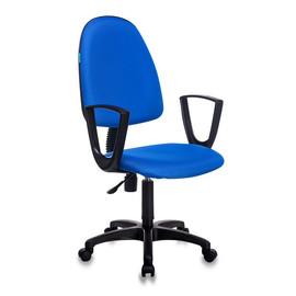 Офисное кресло Бюрократ CH-1300N/BLUE синий Престиж+ 15-10