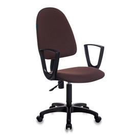 Офисное кресло Бюрократ CH-1300N/BROWN коричневый Престиж+
