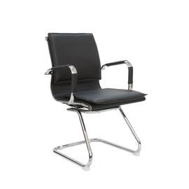 Офисное кресло для посетителей и переговорных Riva Chair 6003-3 черный