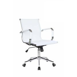 Офисное кресло Riva Chair 6001 2S белая сетка