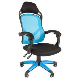 Кресло для геймеров Chairman Game 12 Голубое