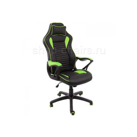 Компьютерное кресло Woodville Leon черное / голубое