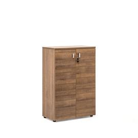 TERRA Шкаф H.121 (80x44xh121см) деревянные двери Капучино