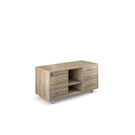 LAVA Приставка подкатная 3 ящика+дверца ГАВАНА 123x53xh62см