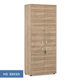 LAVA Шкаф 4 деревянные двери H.198 Гавана 80x44xh198см
