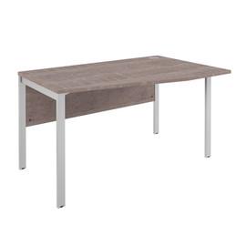 Стол угловой на металлокаркасе XMCT 149 (R) Дуб Сонома XTEN-M 1400х900х750
