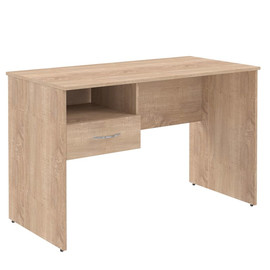 Стол прямой письменный с подвесным ящиком (L/R) S-1200 Дуб Сонома Skyland SIMPLE 1200х600х760