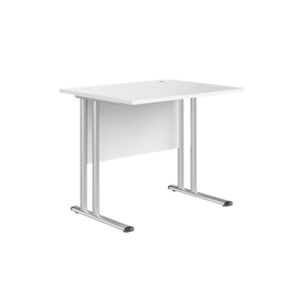 Стол письменный на металлокаркасе СП-1М Белый IMAGO SKYLAND 900х720х755
