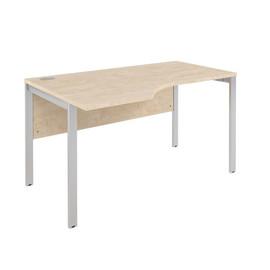 Стол письменный угловой левый XMCET 149 (L) Бук Тиара XTEN-M 1400х900х750