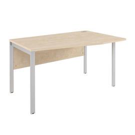 Стол угловой на металлокаркасе XMCT 149 (R) Бук Тиара XTEN-M 1400х900х750