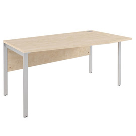 Стол угловой на металлокаркасе XMCT 169 (R) Бук Тиара XTEN-M 1600х900х750