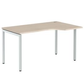 Стол письменный угловой на металлокаркасе в офис XSCET 149 Бук тиара Xten-S 1400х900х750 Правый угол