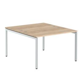 Стол письменный на 2 рабочих места в офис XWST 1214 Дуб Сонома Xten-S 1200х1400х750