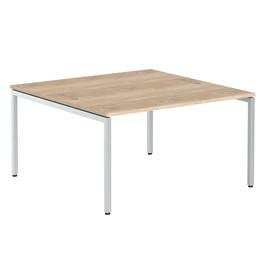 Стол письменный на 2 рабочих места в офис XWST 1414 Дуб Сонома Xten-S 1400х1400х750