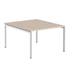 Стол письменный на 2 рабочих места в офис XWST 1214 Бук Тиара Xten-S 1200х1400х750