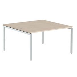 Стол письменный на 2 рабочих места в офис XWST 1414 Бук Тиара Xten-S 1400х1400х750