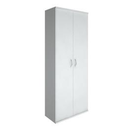 Гардероб комбинированный для верхней одежды в офис глубокий (вешалка-штанга) RIVA А.ГБ-4 770х365х1980