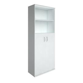 Шкаф для документов в офис высокий широкий (2 средние двери ЛДСП) RIVA А.СТ-1.6 770х365х1980