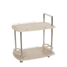 Стол сервировочный Банкет Дуб беленый Mebelic