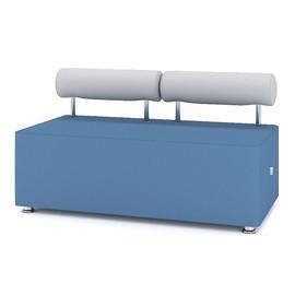 Модуль прямой двухместный M1-2D серии Comfort toForm 1300*650*h720
