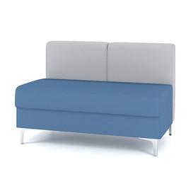 Модуль прямой двухместный M6-2D серии Soft room toForm 1120*700*h740