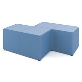 Пуф фигурный M22-4P2 серии Tetris toForm 1350*900*h450