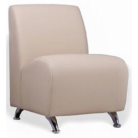 Кресло Интер хром (ШхГхВ - 52х70х78 см.)