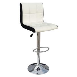 Барный стул 5006 бело-черный LogoMebel