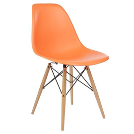 Стул Eames DSW оранжевый Stool Group