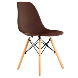 Стул Eames DSW коричневый Stool Group