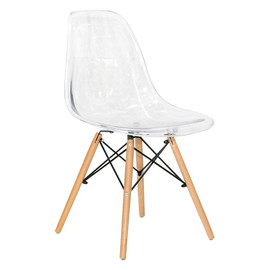 Стул Eames DSW прозрачный Stool Group