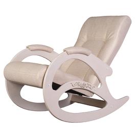 Кресло-качалка Тенария 1 Белый /Крокодил светлый Mebelic