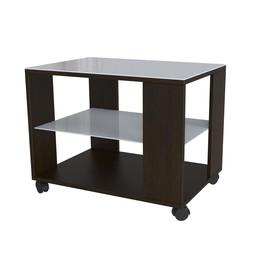 Стол журнальный Beauty Style 5 Венге/Белое стекло Mebelic